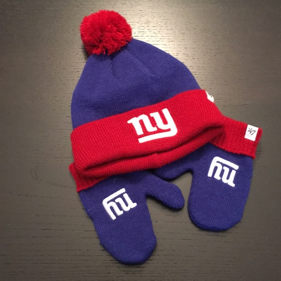 sports shoes cf06e 66099 NFL New York Giants - Toddler hat and mittens